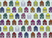Stof A/S - Quilters basic perfect houses
