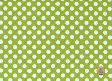 Makower - Bright Oliv Polka