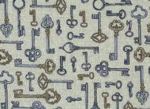 Makower - Vintage Keys - Graubeige