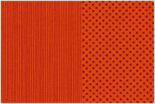Stof A/S - Foxie Fox - Punkte und Streifen - Orange