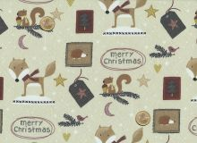 Stof A/S - Christmas for Friends - Label beige