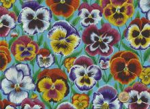 Philip Jacobs - Pansies - Aqua