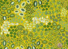 Island Batik - Paisleymuster in lila /petrol