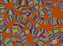 Brandon Mably - Spring 2015 - Roller Coaster Orange