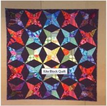 Kite Block Quilt - Rowan