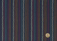 Makower - Radiance Stripe Deep Blue
