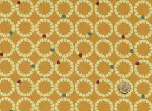 Makower - Radiance sunshine - Heart circles