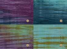 Batik -  Long Quarter Paket - A Splash of color