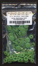 Kam Snap T8 - Druckknöpfe - 25er Packung - Hellgrün