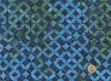 Island Batik - Blau Türkis