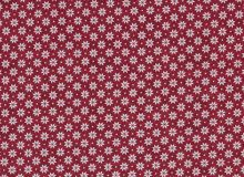 Makower - Nordic Snowflakes - Red