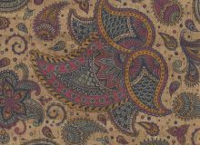 Cork fabric - Indian Paisley