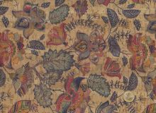 Cork fabric - Magic Garden
