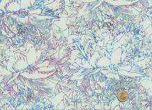 Hoffman Fabrics - Bali Handpaints - Blüten Pastell