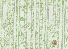 Patchworkstoff Hoffman Fabrics - Bali Handpaints - Birkenstämme Blassgrün