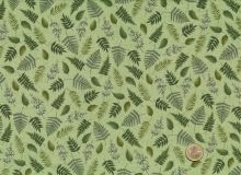 Makower - Fern Garden Leaf Scatter Green