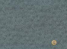 Stof Fabrics - Quilters Coordinates - Strahlenkreise in grau