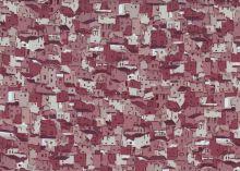 Stof Fabrics - Quilters Coordinates - Häuser Altrosa