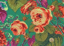 Philip Jacobs  - Rose and Hydrangeas - Green