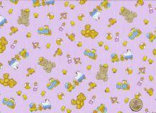 Windham Fabrics - Cutie Pie - Teddybears light pink