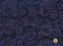 Island Batik - Mosaik in dunklem Lila