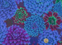Philip Jacobs - Blue Dancing Dahlias