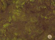 Island Batik - Ginkgo braun
